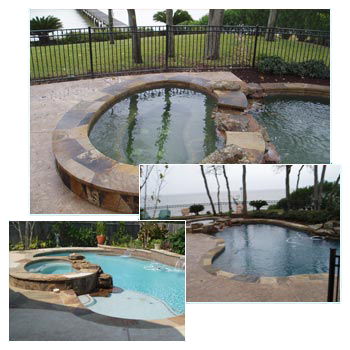 Pool Renovations Stamped Artistry Houston Texas