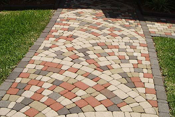 interlocking concrete pavers archives - stamped artistry